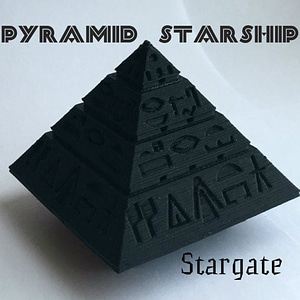 Pyramid Starship Stargate 3D Model