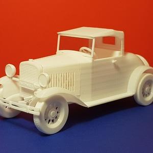 Ford Model A Roadster 3D Model