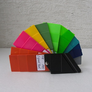 Etui for filament swatches 3D Model