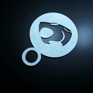 coffee Stencil - thundercats logo 3D Model