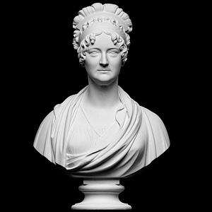 Marie Sophie Frederikke 3D Model