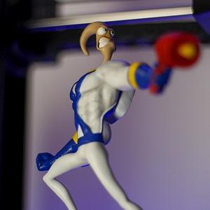 Earthworm Jim 3D Model