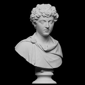 Portrait of Marcus Aurelius as a young man 3D Model