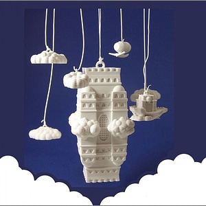 The Impossible Castle (Ornamental Mobile) 3D Model