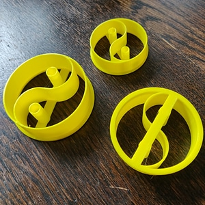 Yin and Yang Cutter 3D Model