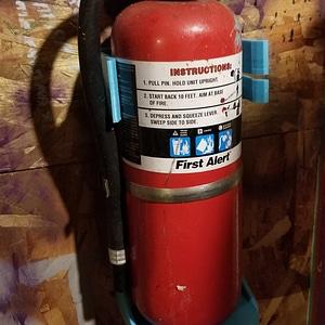 Fire Extinguisher Mount 3D Model