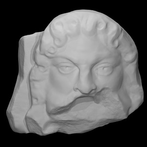 Theatrical Mask 3D Model