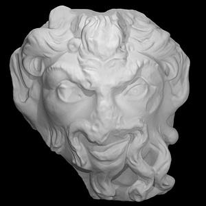 Pan Mask 3D Model