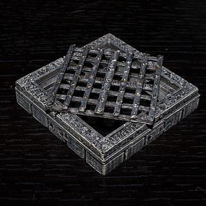 Cut-Stone Grate 3D Model