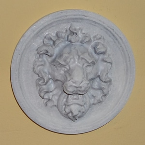 Lion Head Wall Hanger 3D Model