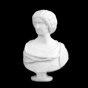Marble Bust of a Roman Woman 3D Model