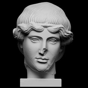 Head of Orpheus 3D Model