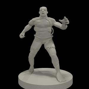 Flesh Golem 3D Model