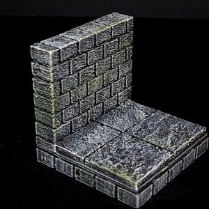 Cut Stone Wall 3D Model
