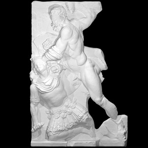 Hercules and Géryon's fight 3D Model
