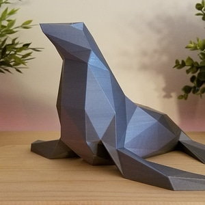Low Poly Seal 3D Model