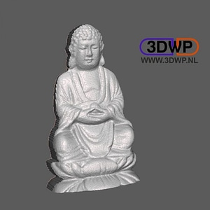 Buddha Relief 3D Model
