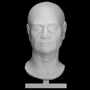 Portrait of an unknown Isiac Priest 3D Model