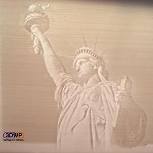 Statue Of Liberty Lithophane 3D Model