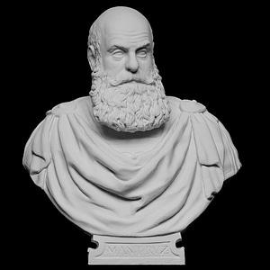 Bust of Marcantonio Ruzzini 3D Model