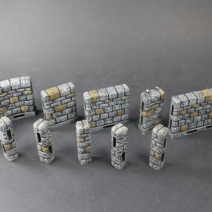 OpenLOCK Dungeon Stone Primary Walls 3D Model