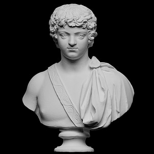 Portrait of Caracalla as a young man 3D Model