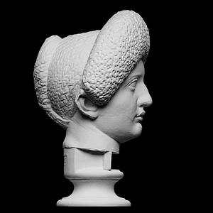 Flavian Woman, Young Giulia 3D Model