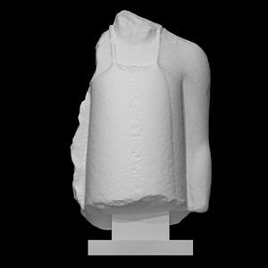 Fragmentary Statuette of a Vizier 3D Model