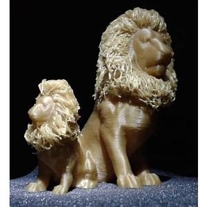 Hairy Lion 3D Model