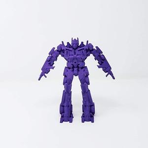 Optimus Prime Transformer 3D Model