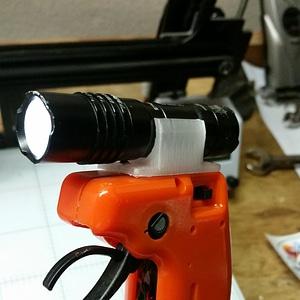 Flashlight Mount for ProTac1L 3D Model