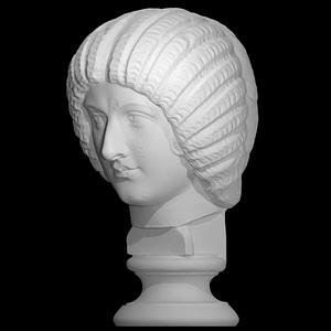 Portrait of Julia Domna 3D Model