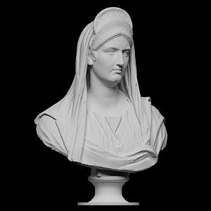 Portrait of Matidia 3D Model
