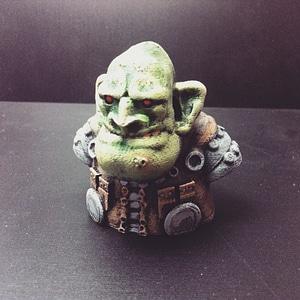 Goblin Junk Merchant Bust 3D Model