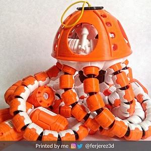 Jell-E Medusa: The Scout 3D Model