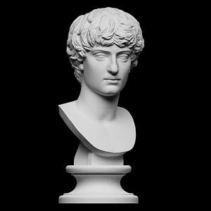 Portrait of a man 3D Model