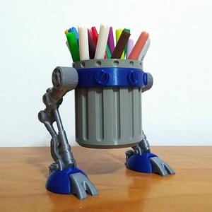 Trash Walker 3D Model