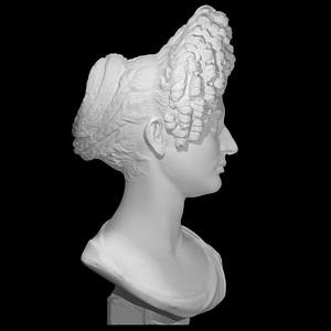 "Portrait Bust of a Flavian Woman, The ""Fonseca Bust"" 3D Model"