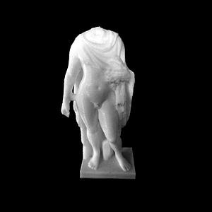 Statue of a Young Boy 3D Model