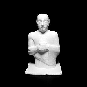 Statue of Gudea: King of Lagash 3D Model
