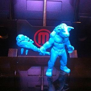 Asterion, the Minotaur 3D Model