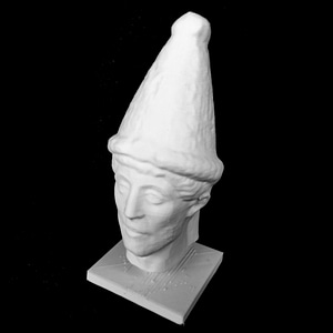 Head of a Priest 3D Model
