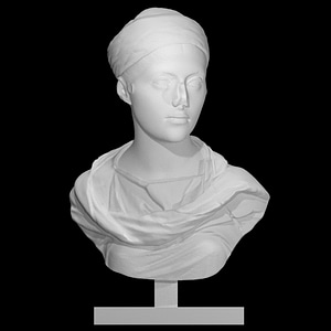Unknown Bust of a Woman 3D Model