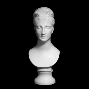 Ideal Head of a Woman at The Kimbell Art Museum, Fort Worth, America 3D Model