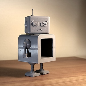 MT-Bot 3000 3D Model