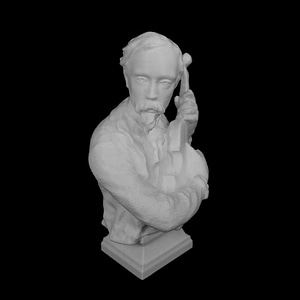 Charles Carpeaux at The Kimbell Art Museum, USA 3D Model
