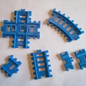 Train Tracks3D模型