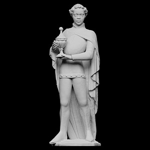 Statue of Balthasar 3D Model