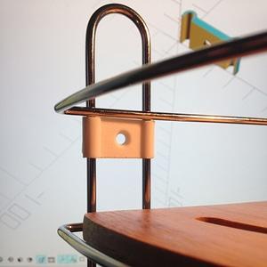 Corner Shower Soap Holder clip 3D Model
