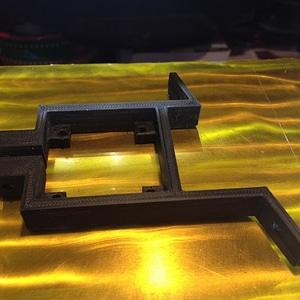 Nema holder for Ultimaker quiet retraction 3D Model